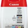 Cartus original Canon CLI-581 cyan magenta yellow BK MULTI Ink Value Pack (Cyan Magenta Yellow Photo Black ink tanks) TS6150 TS8
