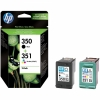 Cartus original HP 350 351 Combo-pack Inkjet Print SD412EE