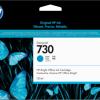 Cartus original HP 730 300-ml Cyan Ink DesignJet T1700 P2V68A