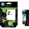 Cartus original HP 45 Large Black Inkjet Print 42 ml 840 pag 5% acoperire 51645AE