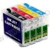 Cartus Epson T0712 (T07124010) compatibil cyan autoresetabil